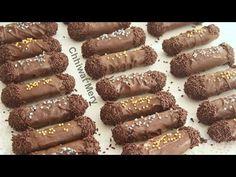 من أسرع الحلويات  و ألذهاا  اطللاقا  حلوى  بدون فرن  بالشكلاطة  و الكاوكاو _ الفول السودني - YouTube