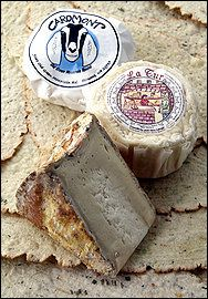 For Eating Fresh: Caromont Old Green Mountain Round, Alta Langa La Tur and Tomme Crayeuse.