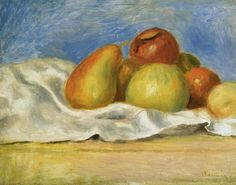 """""""Still Life With Apples And Pears,""""Pierre-Auguste Renoir, 1890"""
