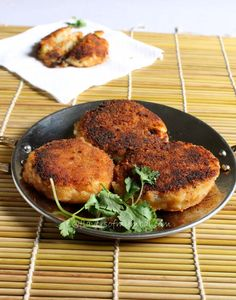 Anglo Indian potato chops. Made very rarely by my mother but devoured very quickly by all of us.