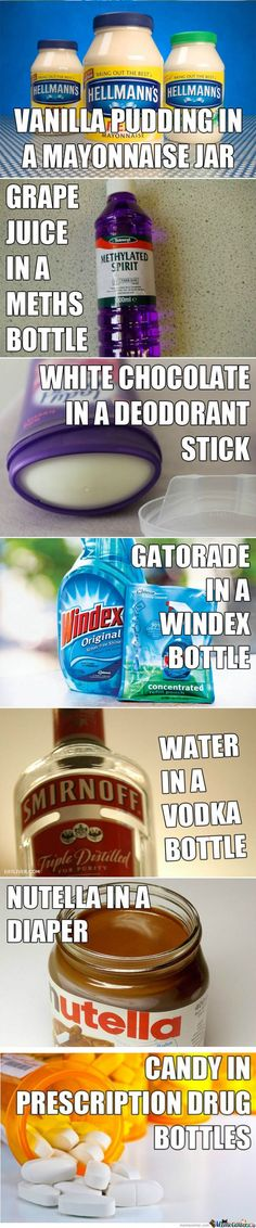 Drinking anything out of a Windex bottle cannot be healthy...