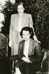 Jean Louise Emery Wallbridge & Mary Louise Imrie.First all-woman partnership, 1951-1979, Edmonton