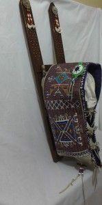 Beaded Craddleboard