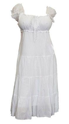 Cotton Peasant Dress, Women\'s Size XL-5X | fashions i love ...