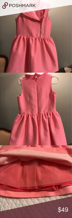 Gaultier junior girls dress Rose colored, new with tags, designed in France by famous designer jean Paul Gaultier Junior Gaultier Dresses Casual