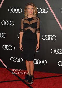 Natalie Zea in Olcay Gulsen - Audi Golden Globe 2014 Kick Off Cocktail Party