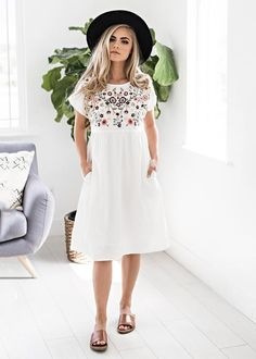 "English Garden Dress shop new arrivals at jessakae.com and use my code ""mirnagisselle10"" at checkout to get 10% off at checkout"