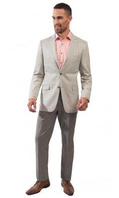 Window Paine Sport Coat-Grey