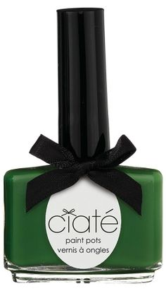 Need a little last minute St. Patty's Day green? Try green nails!