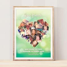 Design en plakat med alle veninderne. Good Friends Are Hard To Find, Best Friends, Frame, Design, Decor, Pictures, Beat Friends, Picture Frame, Bestfriends