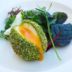 Coulant croustillant c'est un oeuf..... #menubistromique #oeufcoulant #oeuf #egg #gourmandcroquant #Food #Foodista #PornFood #Cuisine #Yummy #Cooking