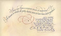 Personal Calligraphy | Baby names, quotations, and custom gifts