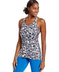 Nike Get Fit Dri-fit Jewels Print Racerback Tank Top