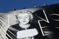 Marilyn Monroe takes over the 65th Cannes film festival.