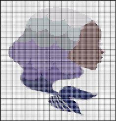 Borduurpatroon Sterrenbeeld Kruissteek *X-Stitch Pattern Zodiac ~Serie 2: Vissen 19-02 t/m 20-03 *Pisces~