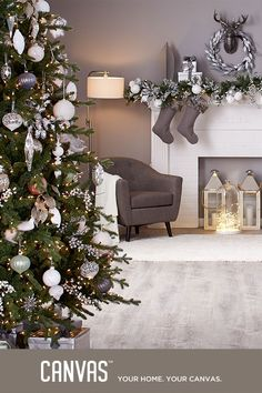 Our stunning silver collection with pastel hues takes it cues from ice, snow, and frost – delicate yet dramatic, richly traditional yet delightfully modern. Introducing the CANVAS Christmas Collection. We've got holiday decor that's dramatic, elegant, nostalgic, and just plain fun. Everything is made to mix and match - find the combination that's right for you. Exclusively at Canadian Tire.