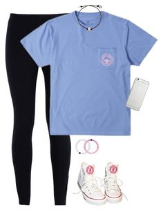 """""""Ootd .x"""" by pulitzer-and-pearls ❤ liked on Polyvore featuring NIKE, Converse, Native Union and Champion"""