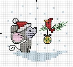 Cross Stitch Christmas Cards, Xmas Cross Stitch, Counted Cross Stitch Patterns, Cross Stitch Designs, Cross Stitching, Cross Stitch Embroidery, Embroidery Patterns, Hand Embroidery, Christmas Cross Stitch Alphabet