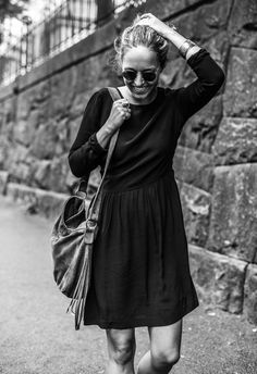 Street style | Stella Harasek. Photo by Jarno Jussila.