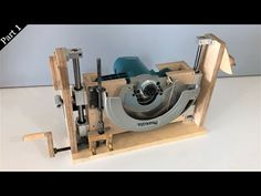 Table Saw Build The Blade Lift Mechanism // Tezgah Testere . Table Saw Fence, Table Saw Jigs, Diy Table Saw, Make A Table, Workshop Organization, Diy Workshop, Woodworking Projects Diy, Woodworking Jigs, Homemade Tools