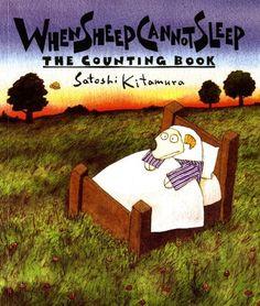 When Sheep Cannot Sleep: The Counting Book (Sunburst Book) by Satoshi Kitamura