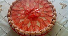 Gyümölcsös túrótorta Pie, Desserts, Food, Torte, Tailgate Desserts, Cake, Deserts, Fruit Cakes, Essen