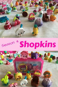 Season 4 Shopkins Toys - CLICK HERE to see pictures!