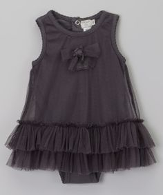 Anthracite Lilou Dress Bodysuit