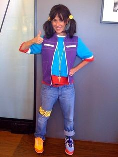 Oh my goodness, the real Punky Brewster as an adult dressed as Punky Brewster!!  16+Halloween+Costumes+You+Probably+Wore+in+the+90s