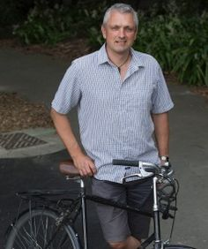 A clean, green, low-carbon, cycle-friendly city is what Simon Kingham wants for Christchurch.