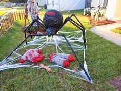 Halloween Decorations For Kids, Halloween Party Decor, Halloween Diy, Halloween Night, Hallowen Party, Outdoor Decorations, Halloween 2019, Halloween House, Halloween Stuff