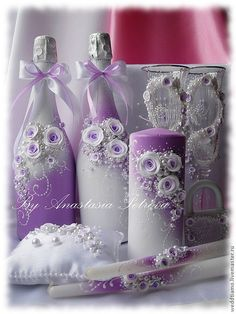 Crafts With Glass Jars, Jar Crafts, Vase Crafts