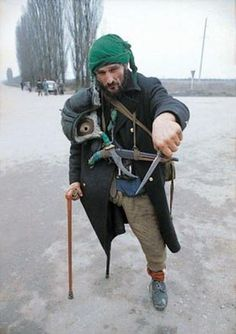 Chechen rebel fighter