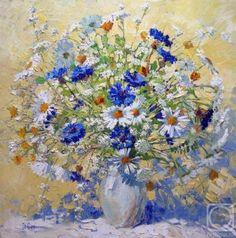 Коты и цветы Марии Павловой