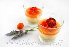 Ricetta Mini Cheesecake floreali al melone e yogurt… in bicchiere!
