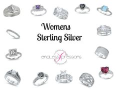 #Womens Sterling Silver http://www.endlessxpressions.com/#SimplyPersonalized
