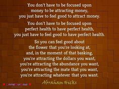 Abraham Hicks                                                                                                                                                                                 More