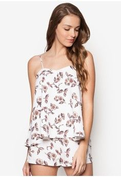 Love double layered playsuit from zalora in 1