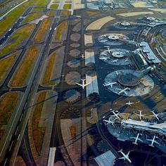 JFK from above