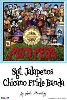 Sgt. Jalapenos Chicano Pride Banda
