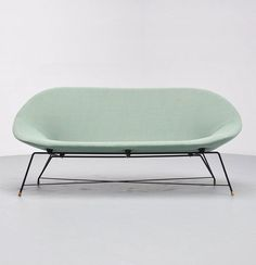 Augusto Bozzi; Sofa for Saporiti, 1954.