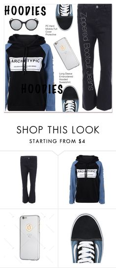"""""""Heads Up! Cute Hoodies"""" by paculi ❤ liked on Polyvore featuring Vans and Hoodies"""