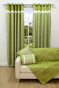 Curtains Home Window Coverings Scatter Box Vivaldi Linden Green « Window Blinds Images, Photos and Pictures Gallery « DesignWagen