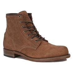 Frye Men's Roland Lace-Up Suede Boot Tan 10.5 D(M) US