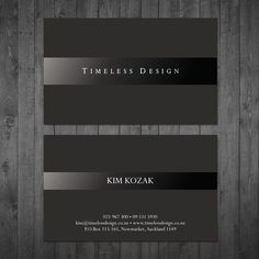 Create an elegant business card for my new interior design business by Tcmenk