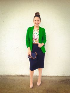 Love this trendy modest outfit on Dainty Jewell's Blog!