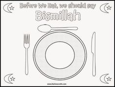 Karima& Crafts: Islamic Placemat and Worksheets - 30 Days of Ramadan Crafts - Eid Crafts, Ramadan Crafts, Ramadan Activities, Activities For Kids, Decoraciones Ramadan, Islam For Kids, Islamic Prayer, Learning Arabic, Worksheets For Kids