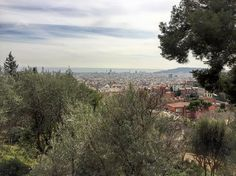 The higher view of #Barcelona from Park Guell. #YHGoes2ES #Spain #travel - February 24 2016 at 03:35PM