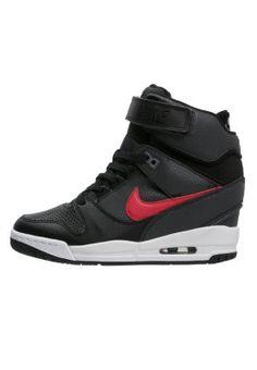 AIR REVOLUTION SKY - Sneakers hoog - black/university red/white/cool grey