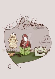 Resolutions by yumigawa on DeviantArt Islamic Cartoon, Soul Jazz, Resolutions, Textile Design, Cartoon Art, Hip Hop, Textiles, Deviantart, Comics
